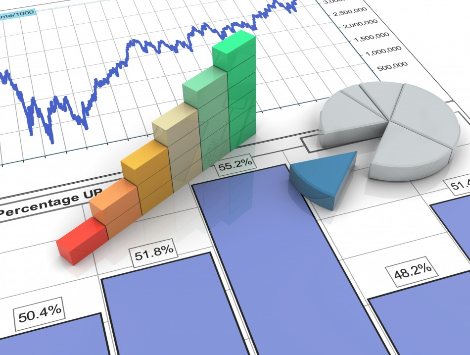 3D Progress Bar On Financial Report